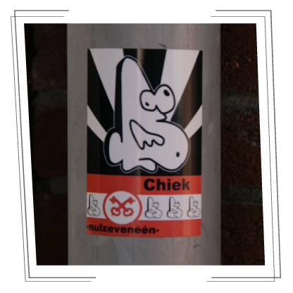 chiek interview sticker art stickem