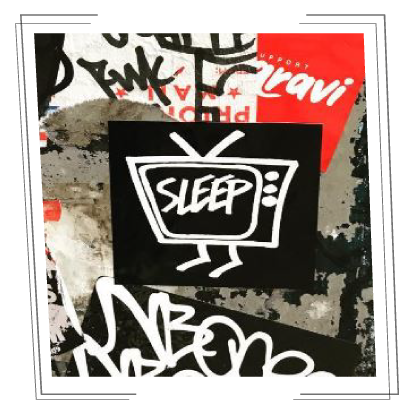 04_sleep_featured stickem magazine interview sticker